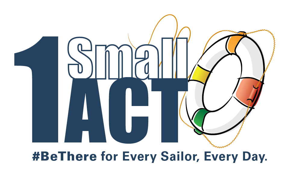 NavyNavStress | 1 Small ACT can make a difference or save a
